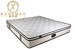 vacuum packed pocket spring mattress in box