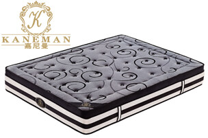 Bamboo charcoal pocket spring mattress roll compress in box