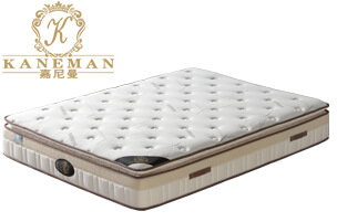 bamboo pillow top pocket spring mattress