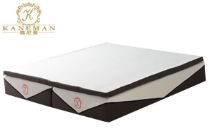 Split super king memory foam mattress