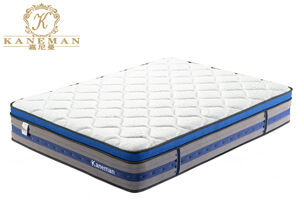 Euro top compressed pocket spring mattress