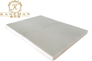 Latex memory foam 2-folding mattress