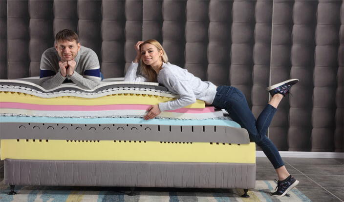 Premium mattress materials  offer you one healthy  night's sleep