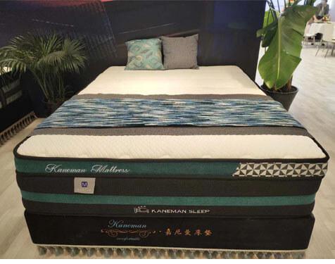 34cm latex foam pocket coil spring mattress