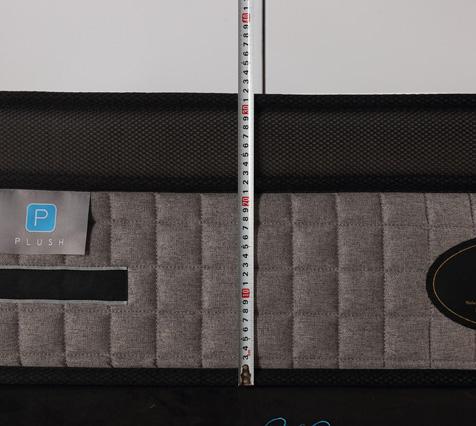 13 inch pocket spring mattress compress packing in wooden pallet