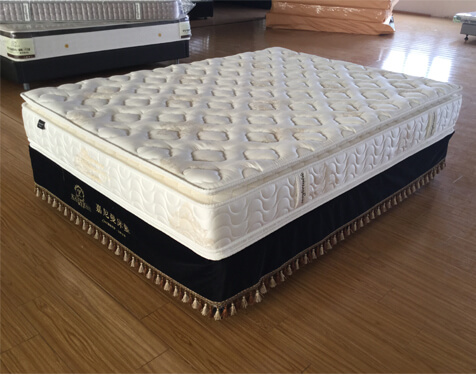 5 star hotel mattress with double pillow top