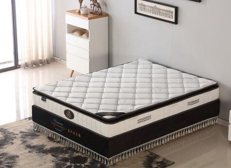 pillow top continuous spring mattress