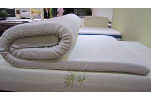 aloe vera topper mattress in box