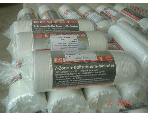 three folded foam Mattress