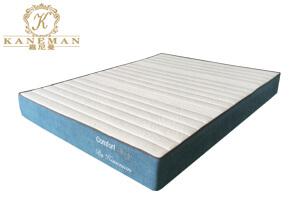 piped edge sleeping sponge mattress