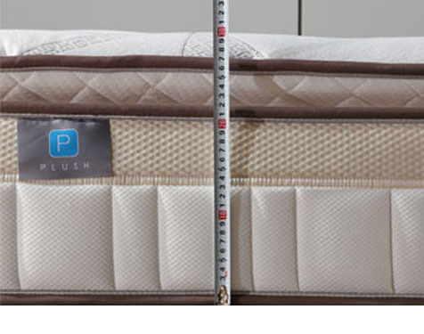 10inch pillow top bonnell spring mattress
