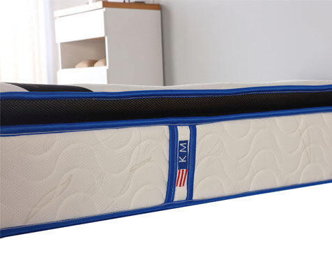10 inch pillow top continuous spring mattress