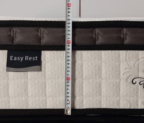 single size continuous spring mattress
