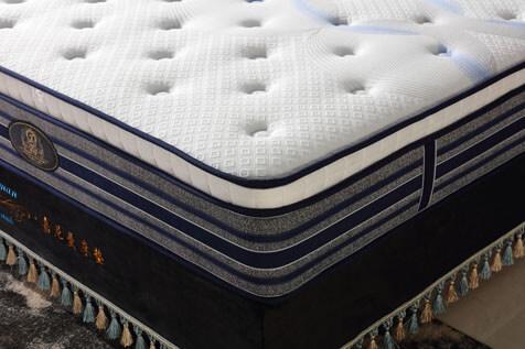 5 zone pocket spring mattress compressed packing
