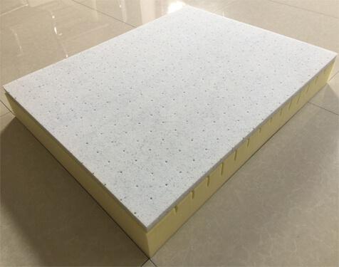 Cooling gel memory foam pet mattress
