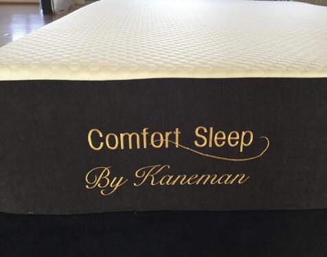 High density memory foam mattress