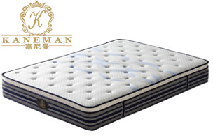 5 zone pocket spring mattress compressed