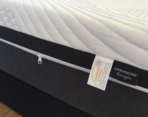 Roll up memory foam mattress