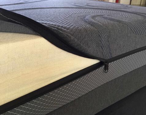 Cool gel memory foam mattress