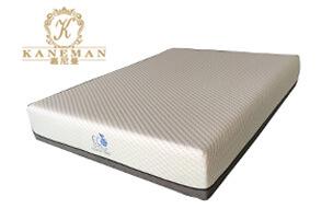 Gel memory foam mattress plush